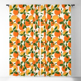 Oranges and Lemons Blackout Curtain