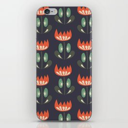 Scandinavian Wildflowers iPhone Skin