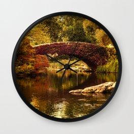 The Gapstow Bridge Wall Clock