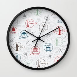 Travel lovers Wall Clock