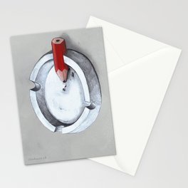 Burnout Stationery Cards