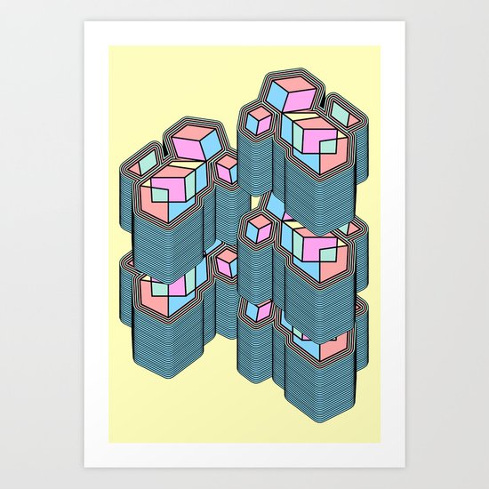Lair Art Print