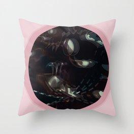 Donna rosa Throw Pillow