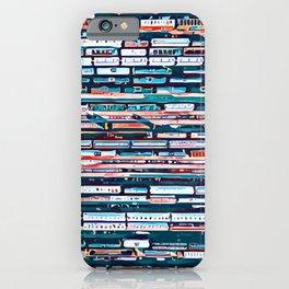 Cool patterns ~ Train Jam iPhone Case