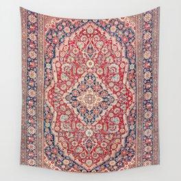 Mohtashem Kashan Central Persian Rug Print Wall Tapestry
