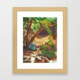 Wild landscape Framed Art Print