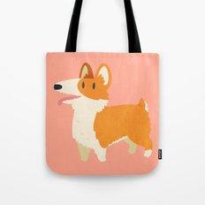 Cute Fluffy Corgi Tote Bag