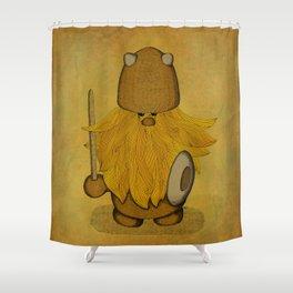Hirsute Viking Homunculus Shower Curtain