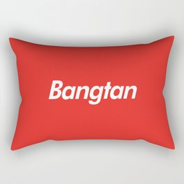 BTS Bangtan Box Logo Rectangular Pillow