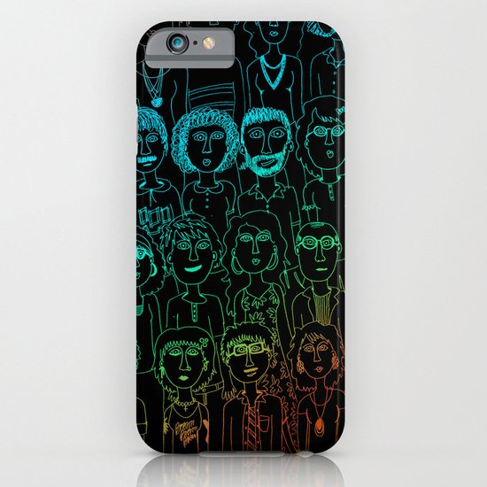 So Many People iPhone & iPod Case