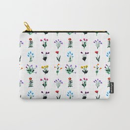 Little modest flowers  Carry-All Pouch