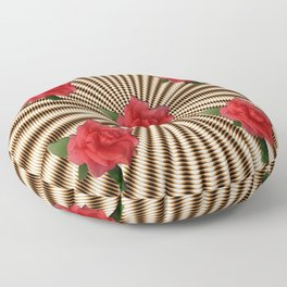 Flowers in my basket.... Floor Pillow