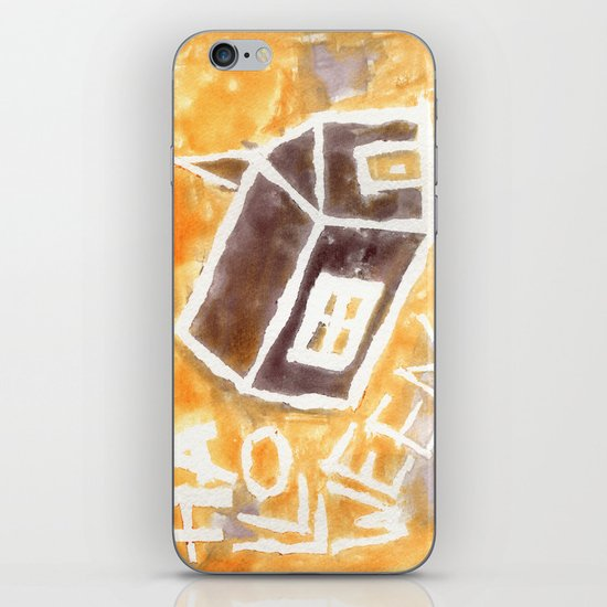 Halloween Church iPhone & iPod Skin