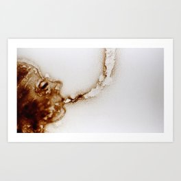 Strange Breath Art Print