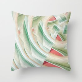 creative design pattern background Throw Pillow