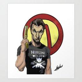 Handsome Jack Bullet Club Art Print