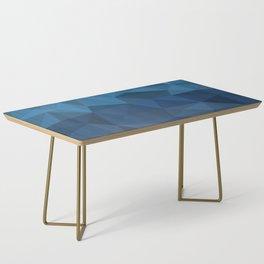 blue geometric Coffee Table