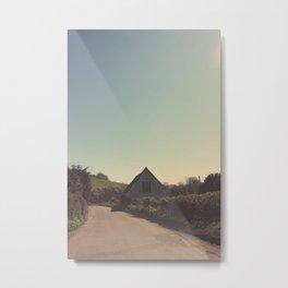 Farm House ∆ Metal Print