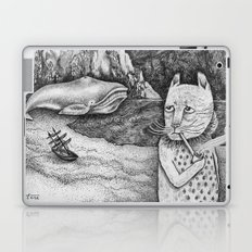The Whale, The Castle & The Smoking Cat Laptop & iPad Skin