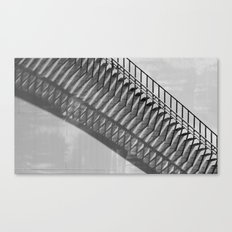 Just After Mid-Day   (bw) Canvas Print