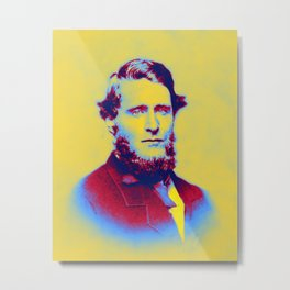 1859 (about) - Plutarch Hines Dorsey (1833-1915) Neon art by Ahmet Asar Metal Print