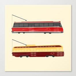 Streetcars Canvas Print