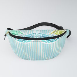 Mermaids and Stripes Fanny Pack