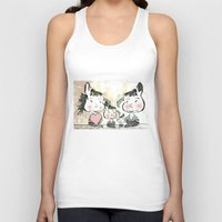 family Tank Tops featuring Family by Digital-Art