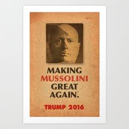 Trump Makings 2. Art Print