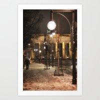 berlin Art Prints featuring Berlin by Sébastien BOUVIER