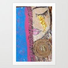 Tears of Gold Art Print