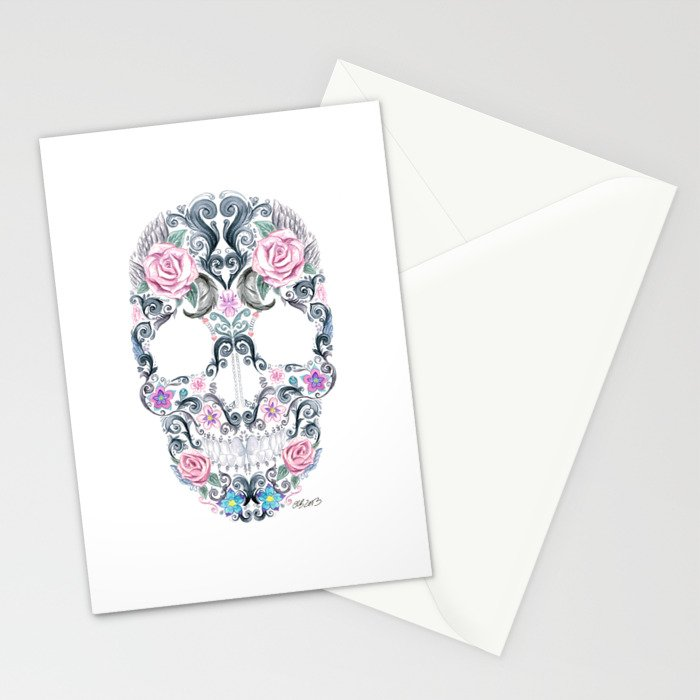 Colorskull Stationery Cards