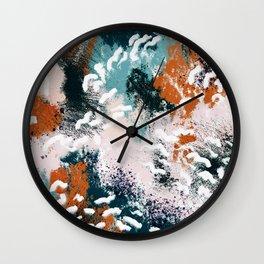 Clara Abstract Wall Clock