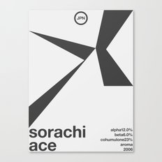 sorachi ace single hop Canvas Print