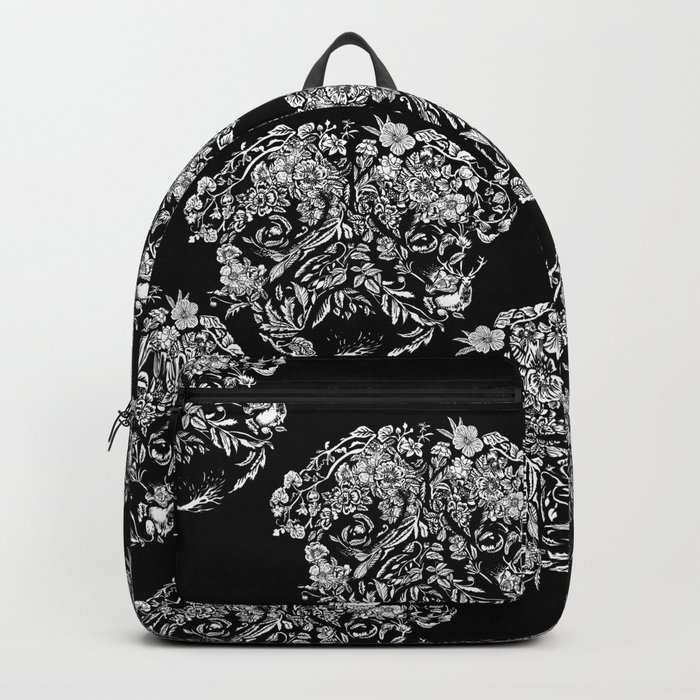 Botanical Garden Pug Backpack
