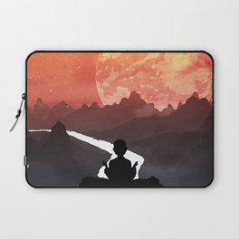 Let your fears run down the creek. Laptop Sleeve