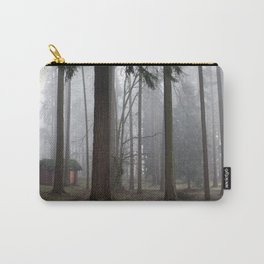 A foggy walk in the woods Carry-All Pouch