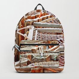 Traditional Lobster Traps Backpack