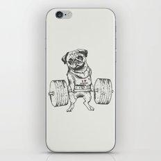 Pug Lift iPhone Skin