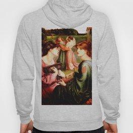 """Dante Gabriel Rossetti """"The Bower Meadow"""" Hoody"""