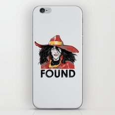 Found iPhone & iPod Skin