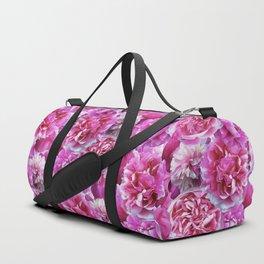 Lovely pink peonies Duffle Bag