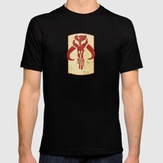 Mandalorian! (1 of 3) Mens Fitted Tee Black MEDIUM