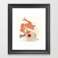 Birth of a Goddess Framed Art Print