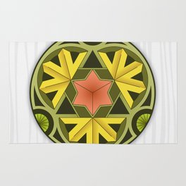 Mandala Autumn Rug