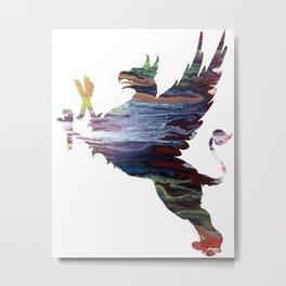 gryphon Metal Print