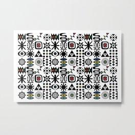 Flash Forward Metal Print
