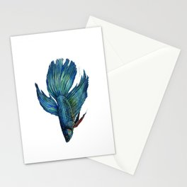 Mortimer the Betta Fish Stationery Cards