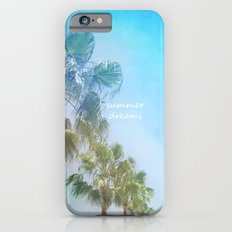 Summer dreams. Palms at the beach Slim Case iPhone 6s