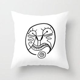 Print #16 Throw Pillow